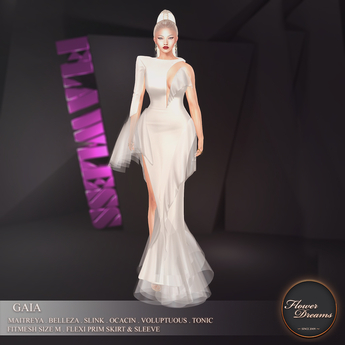 .:FlowerDreams:.Gaia Gown - ivory