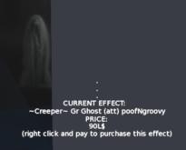 ~Creeper~ Gr Ghost (att) poofNgroovy Halloween Decor Effects