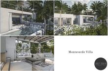 Scarlet Creative - Monteverde Villa - Unfurnished Mesh Prefab