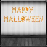 *~LT~* Happy Halloween Wall Art Decal