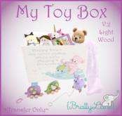 {BL}My Toy Box V.2 Lt Wood