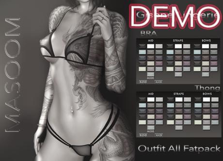 [[ Masoom ]] Gisene- Outfit - DEMO- Legacy Perky, Legacy, Lara, Lara Petite, Freya