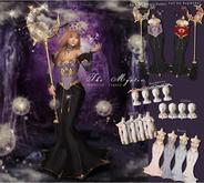 *The Mystic*Ophelia's Incantation Dress (Grape)Maitreya