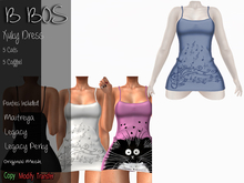 B BOS - Xuky Dress - Coffee Blue - (Add me)