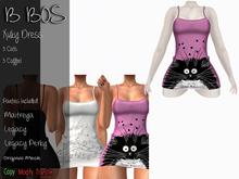 B BOS - Xuky Dress - Cats Pink - (Add me)