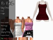 B BOS - Xuky Dress - Coffee Red - (Add me)