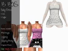B BOS - Xuky Dress - Coffee White - (Add me)
