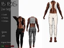 B BOS - Zair Outfit - White - (Add me)