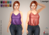 :: SA :: Mollie - Silk Cami Top with HUD - Luxury