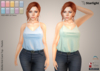 :: SA :: Mollie - Knit Cami Top with HUD - Pastels