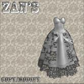 Zan's  teaser gown