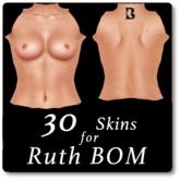 Blackburns 30 Skins for Ruth BOM Avatars