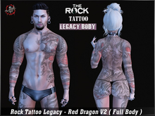 Rock Tattoo Legacy - Red Dragon V2 ( Full Body )
