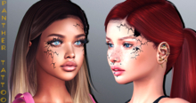 PANTHER TATTOO-Broken Doll-BoM [ Bakes on Mesh ] & Appliers Omega