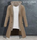 -NU- Rotterdam Coat Light Grey