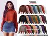TETRA - Dina - turtleneck knit sweater (Fatpack)