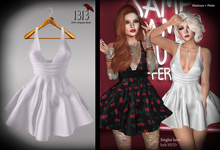 (*<*) 1313 Sonia Dress - White