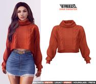 TETRA - Dina - turtleneck knit sweater (Autumn)