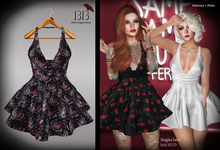 (*<*) 1313 Sonia Dress - Lipstick Chick
