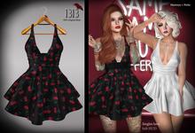 (*<*) 1313 Sonia Dress - Cherry Bomb