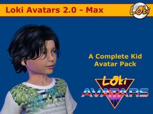 Loki Avatars 2.0 - Max