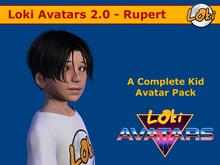 Loki Avatars 2.0 - RUPERT - BUDGET AVATAR