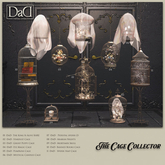 """10 - DaD """"The Cage Collector - Banned Books Cage"""" m/t box"""