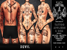 KAOS DEVIL TATTOO