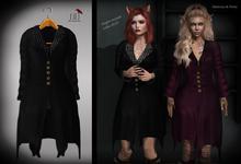 (*<*) 1313 Scully Coat - Black