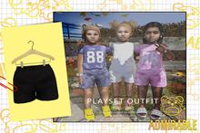 Admirable- Playset Shorts (Black)
