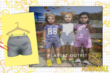 Admirable- Playset Shorts (Blue)