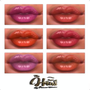 .:the-HAUS:. Glides Lipstick Pallet