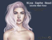 A L P H A   .Stylists.    Nisa Shape For Lelutka Fleur Head