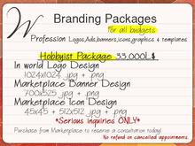 -W- Branding by Wyndavere [ Hobbyist Package ] consultation