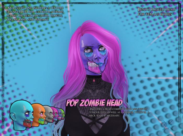 [SS] Pop Zombie Head