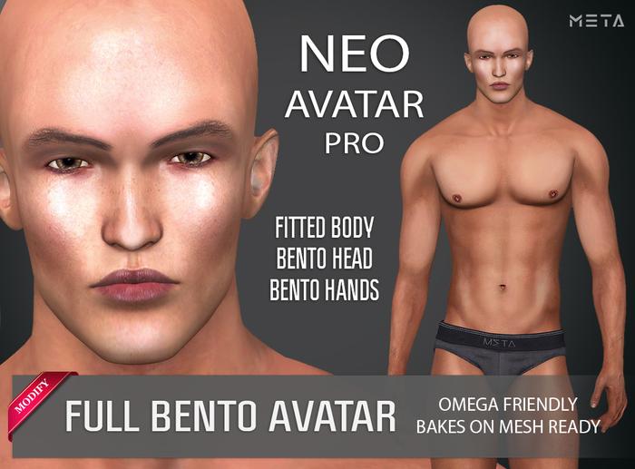 [ META ] NEO : FULL BENTO MESH AVATAR : PRO