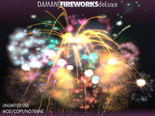 Damani Fireworks deLuxe - NEW (unlimited use, unlimited copies, multiple rockets, 4th of july, new year)