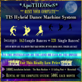 Rental Box *AS* TIS Hybrid Dance Machine Rental Syst