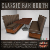 Classic Bar Booth