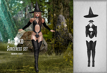Art&KO - Sorceress set - Black