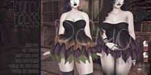 [QE] Flouncy Dress  DEMO -Dip Dye-