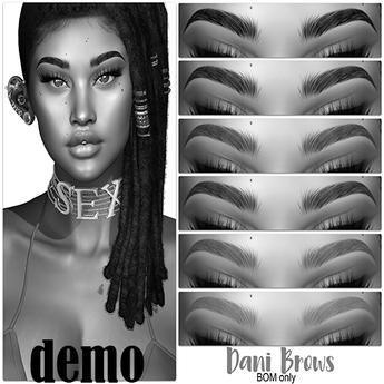 .:the-HAUS:. Dani BOM Eyebrows (Genus) DEMO
