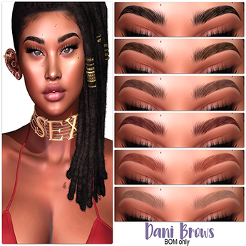 .:the-HAUS:. Dani BOM Eyebrows