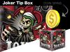 Joker tip coin box