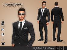 [ hoorenbeek ] High End Suit - BOX - Black [wear me]