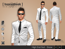 High End Suit - Snow - Signature, Legacy, Belleza, SLink, Classic Avatar
