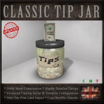 Tip Jar - *TIP JAR*