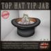 Tip Jar (Top Hat)