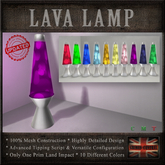 LAVA LAMP (Tip Jar)