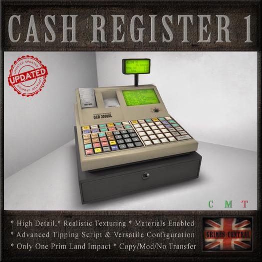Cash Register (Tip Jar)